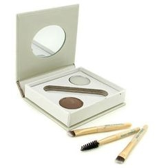 Jane Iredale - Bitty Brow Kit - Brunette (1x Brow Powder,1x Brow Wax, 3x Applicator)