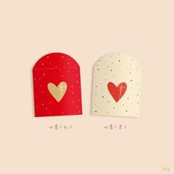 Carta - Heart Print Red Packet