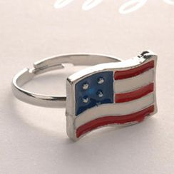 Fit-to-Kill - Stripe Flag Ring