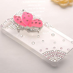 Fit-to-Kill - Butterfly Diamond iPhone5 Case