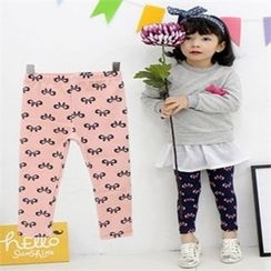 nanakids - Girls Ribbon Pattern Leggings