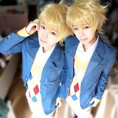 Ghost Cos Wigs - Beyond the Boundary Akihito Kanbara School Uniform Cosplay Costume