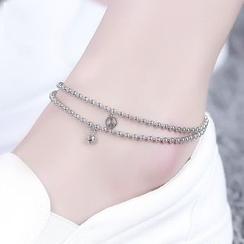 MOSHANG - 珠饰脚镯