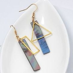 Wind Valley - Non Matching Hook Earrings