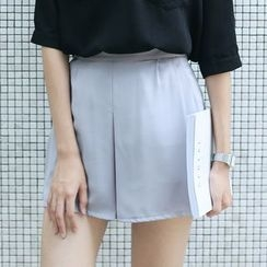 Sens Collection - Wide Leg Chiffon Shorts