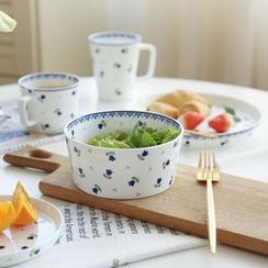 Kawa Simaya - Ceramic Floral Bowl / Plate / Cup