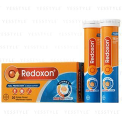 Redoxon - Triple Action Orange Flavor Effervescent Tablets (Vitamin C + Vitamin D + Zinc)