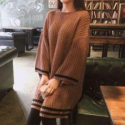Cloud Nine - Long-Sleeve Knit Dress