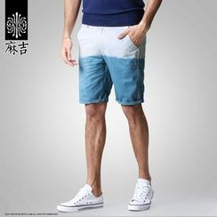 Hey! DUDE - Two-tone Shorts