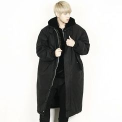 Remember Click - Oversized Padded Long Jacket