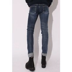 Ohkkage - Washed Skinny Jeans