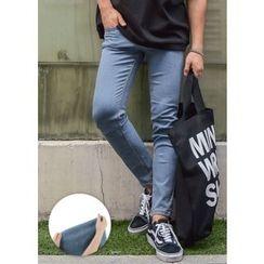 GERIO - Slim-Fit Straight-Cut Jeans