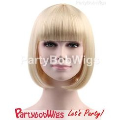 Party Wigs - PartyBobWigs - 派对BOB款短假发 - 金色