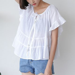 Sens Collection - Short Sleeve Blouse