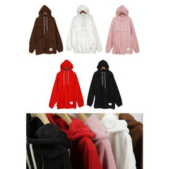 REDOPIN - Drawstring Hooded Pullover