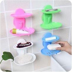 VANDO - 镂空强力吸盘沥水肥皂盒