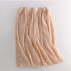 Pluvio - Lace Midi Skirt