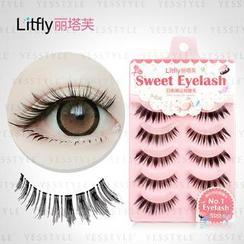 Litfly - Eyelash #109 (5 pairs)