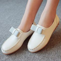 CITTA - Bow Loafers
