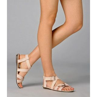 yeswalker - Strappy Buckled Sandals