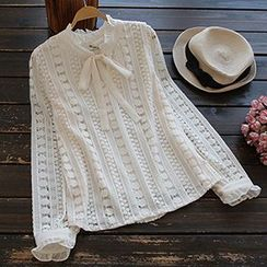 YOYO - 蕾絲襯衫