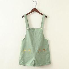 ninna nanna - Embroidered Jumper Skirt