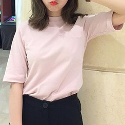 Phyllis - Elbow Sleeve T-Shirt