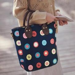 SUPER LOVER - Printed Handbag