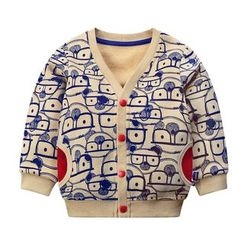 Ansel's - Kids Cartoon Print Jacket