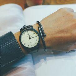 Tacka Watches - Couple Matching Plain Strap Watch