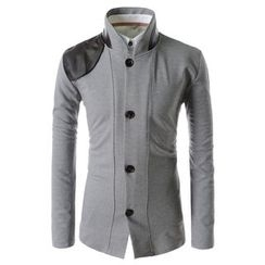 TheLees - Mandarin-Collar Cardigan