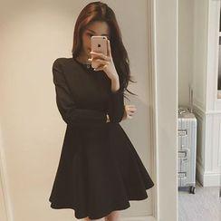 EFO - Long-Sleeve A-Line Dress