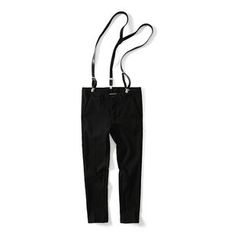 Chuoku - Slim Fit Pants with Suspender