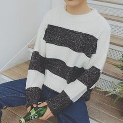 Soulcity - Color Block Sweater