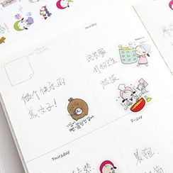 Cute Essentials - Cartoon Stickers