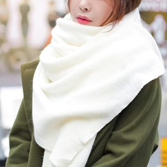 Kalamate - 纯色针织围巾
