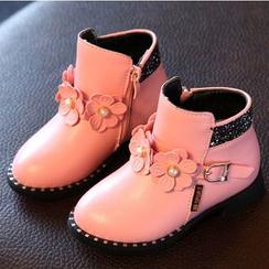 綠豆蛙童鞋 - 童裝短靴