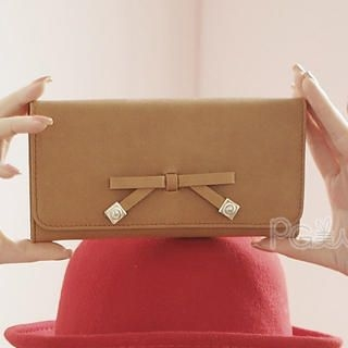 PG Beauty - Ribbon-Accent Wallet