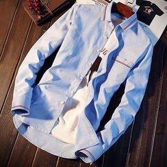 DTT - Piped Long-Sleeve Shirt
