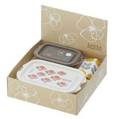 Skater - Lotta Jansdotter Lunch Box Gift Set