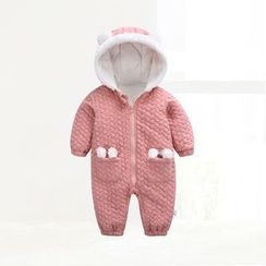 ciciibear - Kids Bear Hooded One-piece