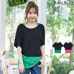 RingBear - Set: Cropped Tee + Tank Top