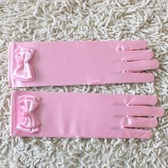 HELLO BABY - Kids Bow Gloves