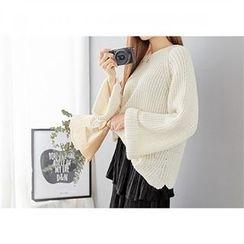 PEPER - Raglan-Sleeve Knit Top