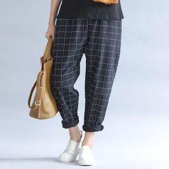 Epoch - 格纹哈伦裤