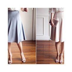 MASoeur - Zip-Side A-Line Skirt