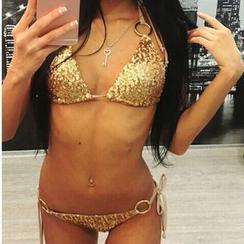 Charlotte - Sequined Bikini