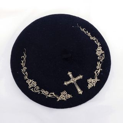 Rega - Embroidered Beret