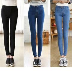 Denimot - Cropped Skinny Jeans
