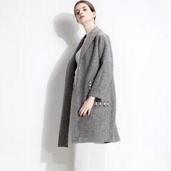 Halona - Stitched-Pocket Coat